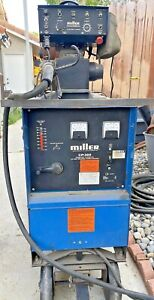 Miller Cp 300 Mig Welder With Millermatic S 52e Wire Feeder Local Pickup Ca