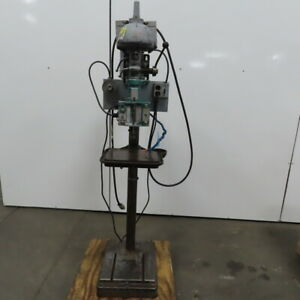 Walker Turner 15 Drill Press Automatic Tapping Machine Command Lead Matic Head