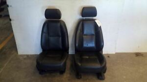 Front Power Heated Leather Bucket Seats From 2009 Avalanche 1500 Kb6 An3 7637291