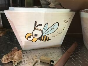 Bee Hive Nuc Top Bar Hive Bee Keeping Hive Hive Only Custom Made One Of A Kind