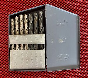 Huot 29 Pc Drill Bit Set Index 1 16 To 1 2 By 64ths