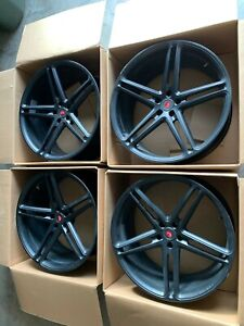 Vossen Forged Hc 1 Wheels 22 Matte Black Set Of 4 Like New