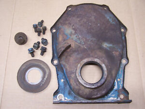 Mopar Big Block Timing Cover With Bolts Slinger Cam Bolt 361 383 400 413 426 440