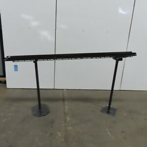 Small Parts Gravity Roller Conveyor 5 Wide X 84 Long Incline 39 To 43