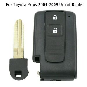 For Toyota Prius Corolla Verso 2 Buttons Remote Key Fob Cover Case Plastic metal