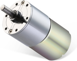 Greartisan Dc 24v 1000rpm Gear Motor High Torque Electric Micro Speed Reduction