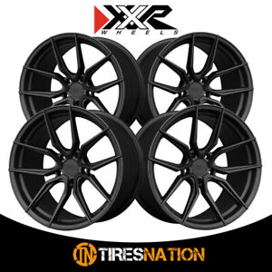 4 Xxr 559 19x8 5 5 120 72 56 Hub 40 Offset Flat Graphite Wheel Rim