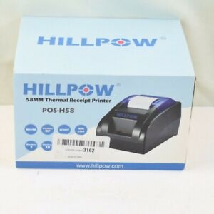 Hillpow 58 Mm Thermal Receipt Printer Pos h58 High Speed Printing For Windows