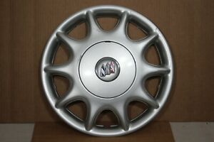 Oem 1997 2003 Buick Century 15 Silver Hubcap Wheel Cover 9592348