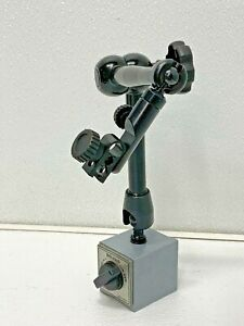 Mitutoyo 7033b Universal Magnetic Base Stand With Mechanical Locking System 67b