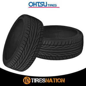 2 New Ohtsu Fp8000 255 35r20xl 97w Bw Tires