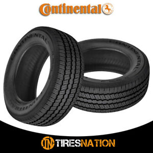 2 New Continental Contitrac P235 70r16 Tires