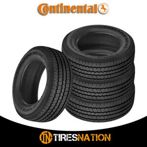 4 New Continental Contitrac P235 70r16 Tires