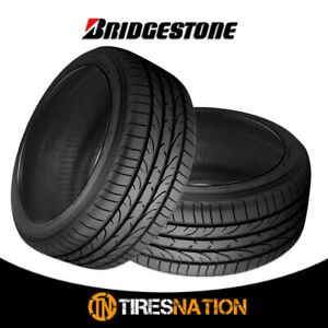 2 Bridgestone Potenza Re050 255 45r18 99y All Season Performance Tires