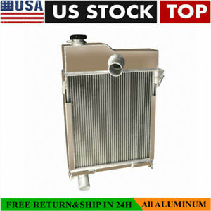 Am1771t Am639t Radiator For John Deere M Mt 40 320 Tractor Non pressurized