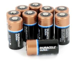 Zoll Aed Plus Battery Replacement Set Of 10 Batteries 8000 0807 01 Type 123