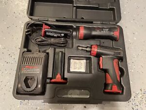 Snap On Cts561cl Cordless Screwdriver Gun Battery Hard Case Charger Ni Cd 1 4