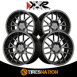 4 Xxr 530d 19x10 5 5 4 5 73 1 Hub 20 Offset Chromium Black Wheel Rim