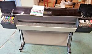 Hp Z3100 44 Color Plotter Serviced Works Great With Consumables