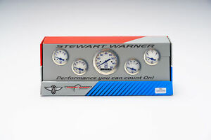 Stewart Warner 838448 Gauge Fuel Level Oil Pressure Speedometer Voltmeter