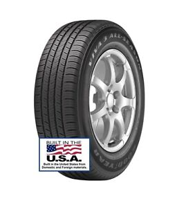 4 Brand New Goodyear Viva 3 All Season 195 60r15 88t Tire Car Van