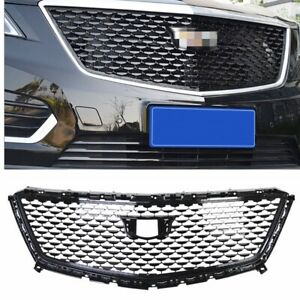 For Cadillac Xt5 2016 2019 2020 Front Grille Grill Cover Trim Black Diamond 1pc