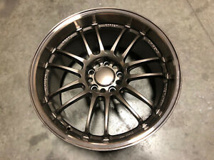 Volk Racing Re30 Hyper Bronze Single Wheel 18x9 5 5x100 Unknown Offset