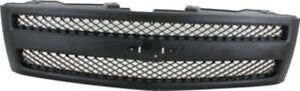 Black Grill Assembly For 2007 2013 Chevrolet Silverado 1500 Grille