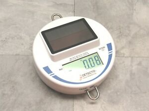 New No Box Detecto 30 Lb Capacity Solor Powered Hanging Scale For Produce