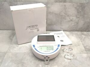 New Open Box Detecto 30 Lb Capacity Solor Powered Hanging Scale For Produce