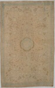 Antique Muted Distressed Small 3x5 Wool Hand Knotted Oriental Area Rug Carpet