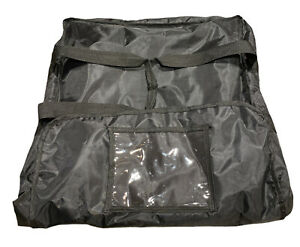 Insulated Pizza Delivery Bag Used