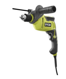 Ryobi 5 8 In Hammer Drill Driver Variable Speed 6 2 Amp Corded W 6 Ft Cord Tool