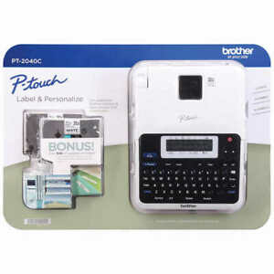 Brother P touch 2040c Label Maker New Free Shipping