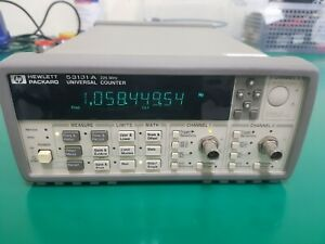 Hp Agilent Keysight 53131a 225mhz Universal Frequency Conter