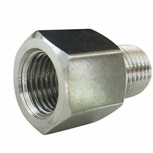 Metalwork Stainless Steel 304 Forged Pipe Adapter Fitting 1 4 Npt Female X 1
