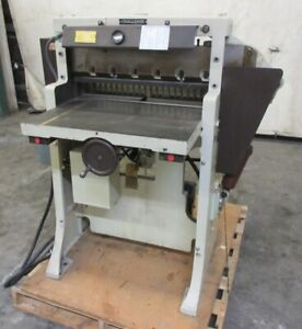 Challenge Machinery Co 1983 Paper Cutter Size 265 26 5 8 Model Hbe 208v