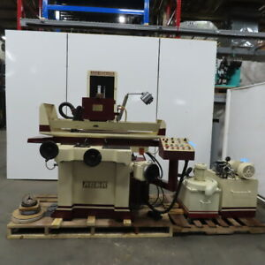 Acer Ags 1224ahd Automatic Hydraulic Surface Grinder 12 x 24 3 Axis 480v 3ph