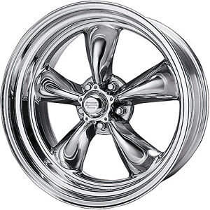 18x7 Polished American Racing Vintage Torq Thrust Ii Rim Blank 6 Wheel