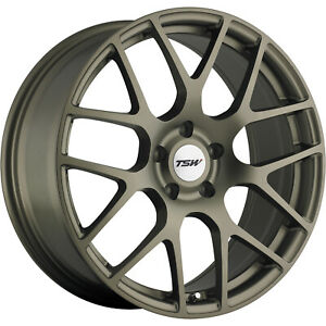 18x8 Bronze Wheel Tsw Nurburgring 5x112 45