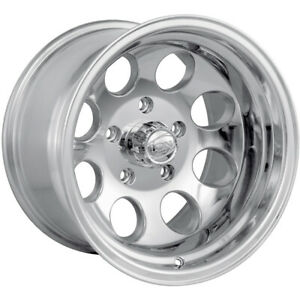 4 16x10 Polished Alloy Ion Style 171 6x5 5 38 Wheels Lt305 70r16 Tires