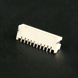 Zh1 5mm Pin Header Smd smt Pcb Connector 2 3 4 5 6 7 8 9 10p Contact Aesistance