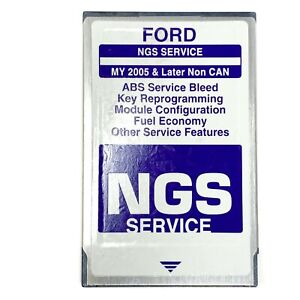 Ford Ngs Service Module Card For My 2005 Later Non Can Hickok V 15 0