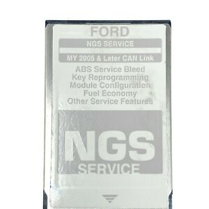 Ford Ngs Service Module Card For My 2005 Later Can Link Hickok V 2 0