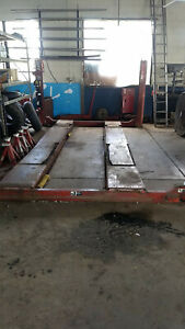 12000 Lbs Rotary Alignment Lift With Rolling Jacks
