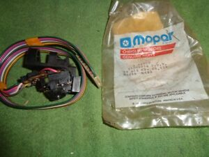 Nos New Mopar Jeep Wiper Signal Switch 56000032 Amc Wrangler Wagoneer Parts