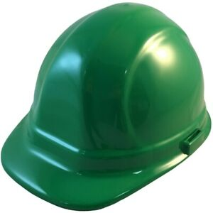 Erb Omega Ii Cap Style Safety Hat Green