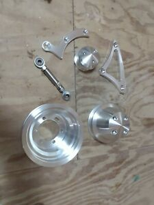March Performance Pulley Kit Serpentine Conversion For Mopar Big Block New