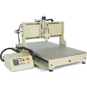 4 Axis Cnc 6090 Engraver Usb 2200w Engraving Milling Machine 3d Drilling Router