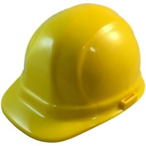 Erb Omega Ii Cap Style Safety Hat Yellow